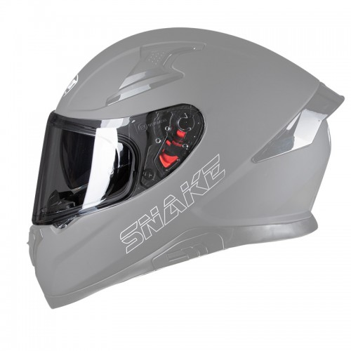 Pilot Snake Visor Light Smoke antiscratch