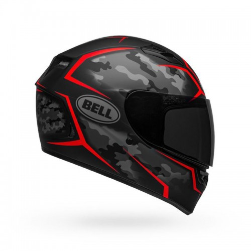 Bell Qualifier Stealth Camo Black-Red