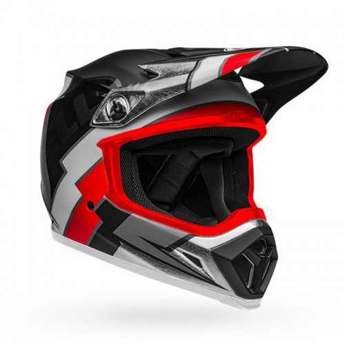 Bell MX-9 Mips Twitch Replica Black-Red