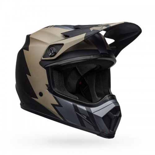Bell MX-9 Mips Strike Khaki-Black