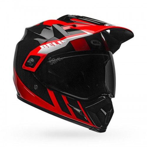Bell MX-9 Adventure Mips Dash Black-Red-White