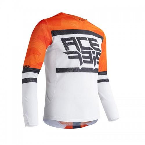Μπλούζα Acerbis MX Helios vented_ 23905.203 πορτοκαλί-άσπρο