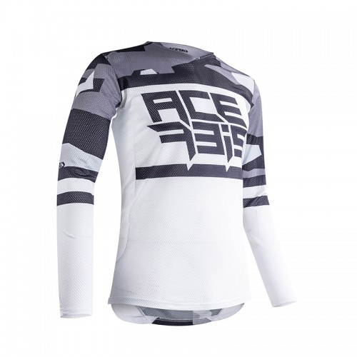 Acerbis MX Helios vented Jersey 23905.287 Grey-White