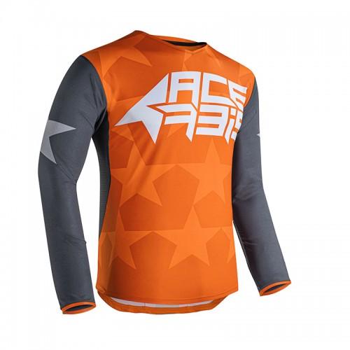 Μπλούζα Acerbis MX X-Flex Starway_ 23903.207 πορτοκαλί-γκρι