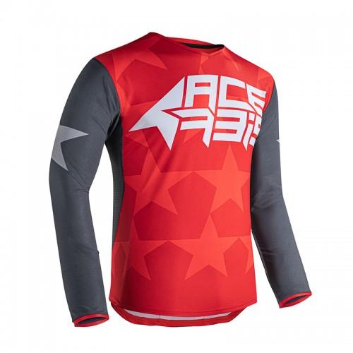 Μπλούζα Acerbis MX X-Flex Starway_ 23903.347 γκρι-κόκκινο