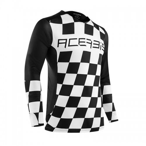 Μπλούζα Acerbis MX Start & Finish _ 23891.315 _  μαύρο-άσπρο