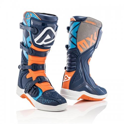 Μπότες Acerbis_ 22999.243_ X-TEAM μπλε-πορτοκαλί