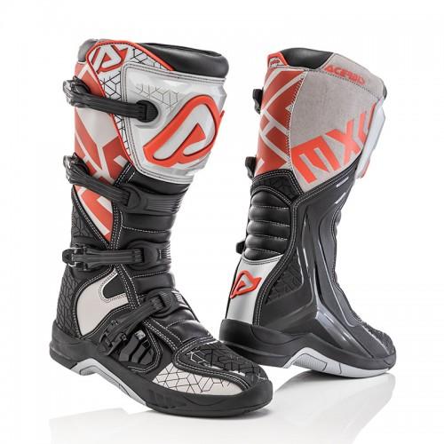 Μπότες Acerbis 22999.319 X-TEAM μαύρο-γκρι