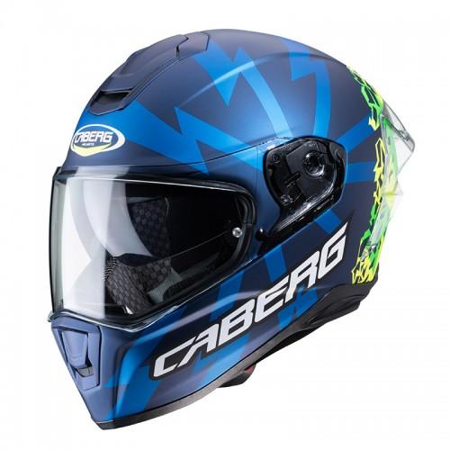 Caberg Drift Evo Storm matt blue/fluo