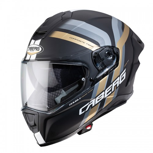 Caberg Drift Evo Vertical Black-Gold Matt