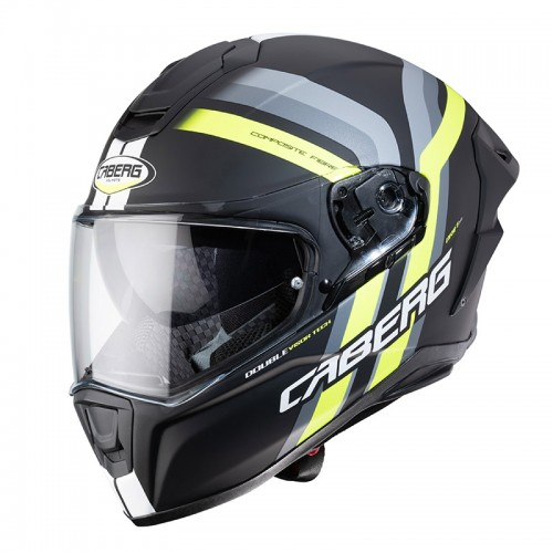 Caberg Drift Evo Vertical Black-Yellow Fluo Matt