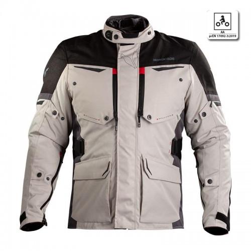 Nordcode Senegal jacket oversize Grey/Black