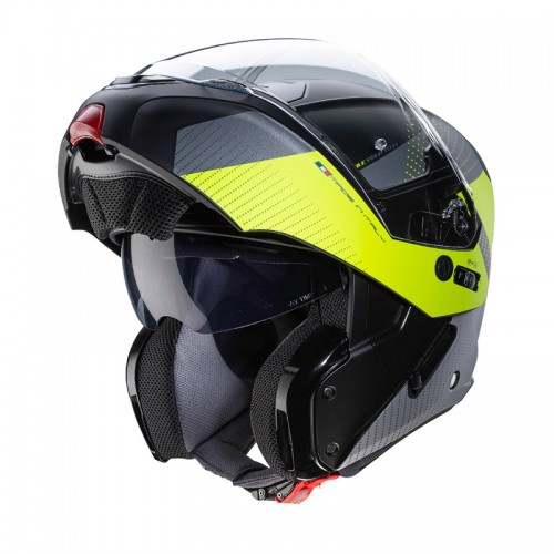 Caberg Horus Scout Black - Fluo Yellow - Anthracite