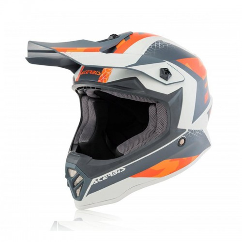 Acerbis Impact Steel Junior _ 23425.207 Orange-Gray
