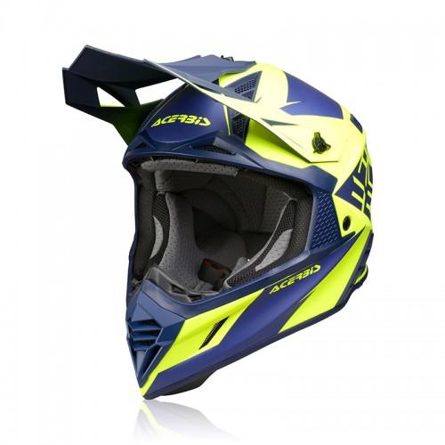 Κράνος Acerbis X-Track VTR μπλε/κίτρινο