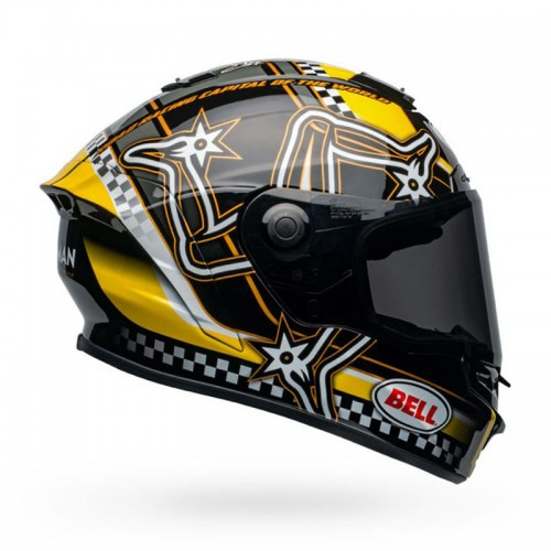 Bell Star DLX MIPS Lux Isle of Man Yellow