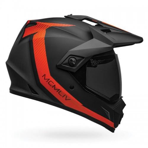 Bell MX-9 Adventure Mips Switchback matt black/orange