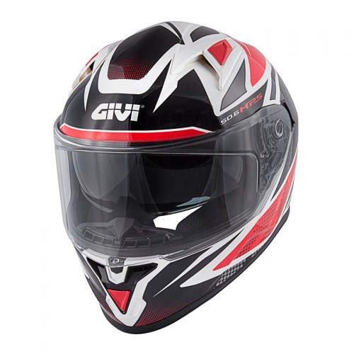 Κράνος Givi H50.6 Stoccarda Follow White/Red/Black