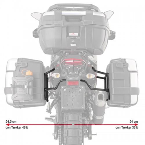 Βάσεις πλαϊνών βαλιτσών PLO2145MK_Tenere 700'2019 για monokey Yamaha GIVI