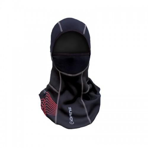 Προστασία λαιμού-κεφαλιού Dane Saksun Gore-Tex μαύρο