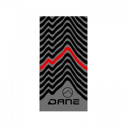 Προστασία λαιμού Dane_ Stormcover thermo tube 25 γκρι/μαύρο/κόκκινο