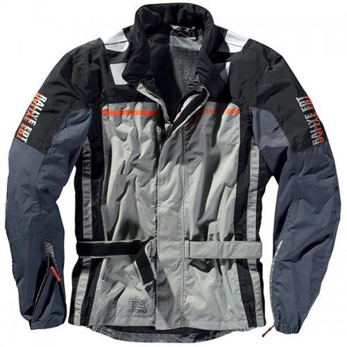 DIFI Μπουφάν Μηχανής Terra East 28  Ανδρικό Χειμερινό Αδιάβροχο Γκρι-πορτοκαλί