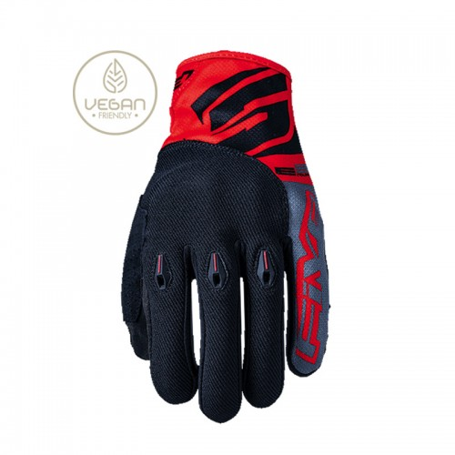 Five E3 Gloves Red