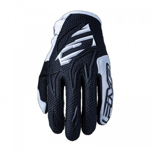 Five MXF3 Gloves Black/White