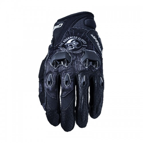 Five Stunt Replica Skull Gloves