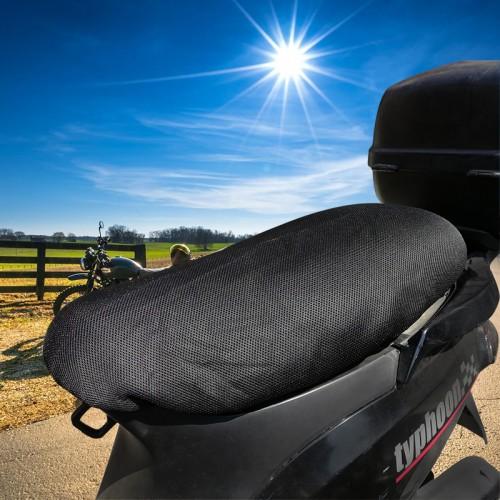 Κάλυμμα σέλας Nordcode Seat Cover Summer one size μαύρο