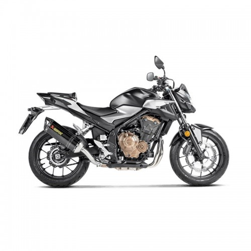 Τελικο Akrapovic street legal Hexagonal Carbon_ S-H5SO4-HRC _ HONDA CBR 400 R / CBR 500 R '19