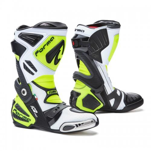 Μπότες Forma Ice Pro Flow άσπρο-μαύρο-fluo κίτρινο