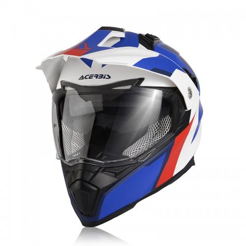 Acerbis 22310.034 Flip FS-606 white/blue/red