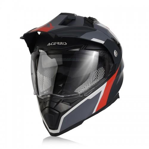 Acerbis 22310.295 Flip FS-606 grey/red