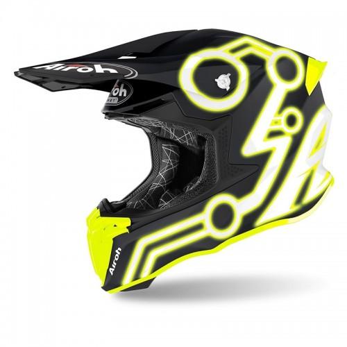 Κράνος Airoh Twist 2.0  Neon Yellow Matt