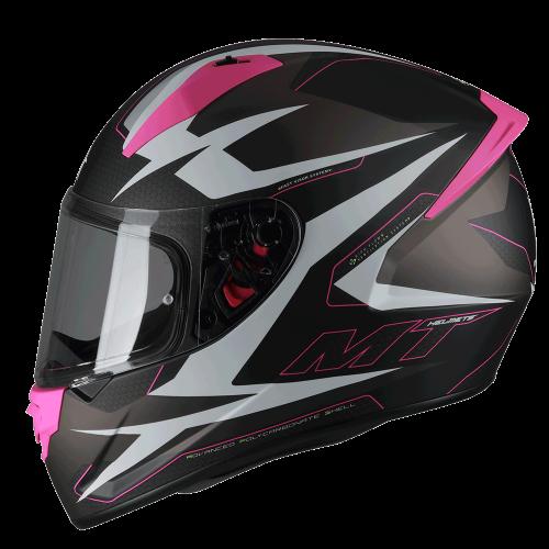 Κράνος MT Stinger Powered B8 ροζ ματ