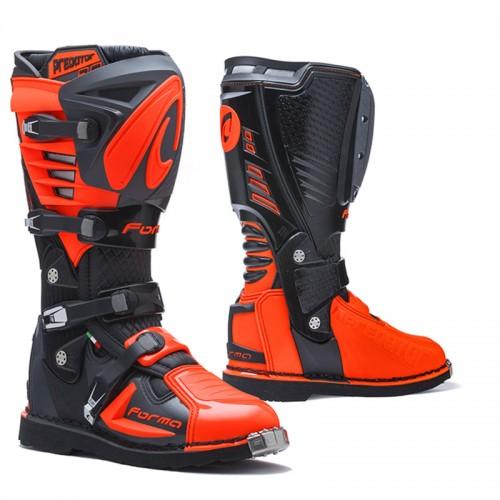 Μπότα Forma Predator 2.0 μαύρο/ανθρακί/πορτοκαλί