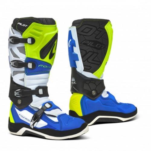 Μπότες Forma Pilot άσπρο/fluo/μπλε