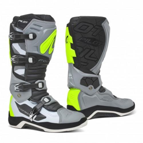 Μπότες Forma Pilot  Γκρι/άσπρο/fluo