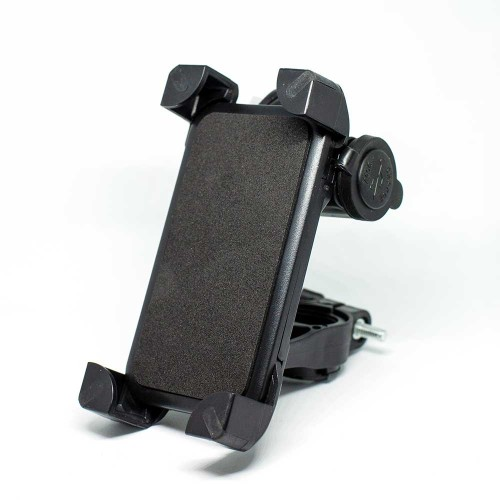 PILOT - Universal gps-smartphone holder with USB charger