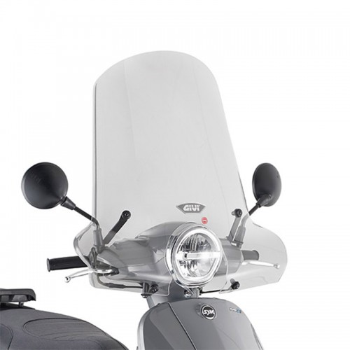 Givi Windshield 7062A for Fiddle 125 EURO 520 '20 Sym