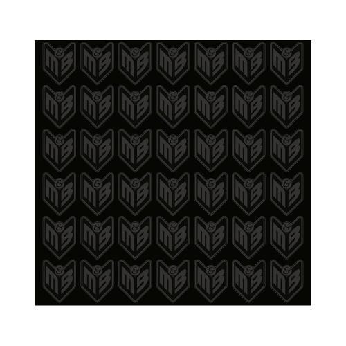 Φουλάρι Nordcode_ Tube neck 4 Logo μαύρο/γκρι