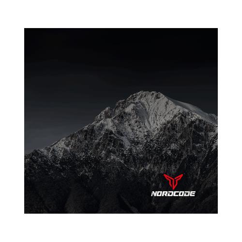 Φουλάρι Nordcode_ Tube neck 5 Mountain μαύρο/γκρι