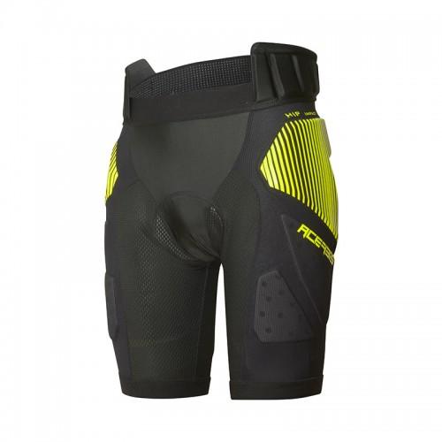 Shorts Acerbis Soft Rush 24527.318 μαύρο-κίτρινο
