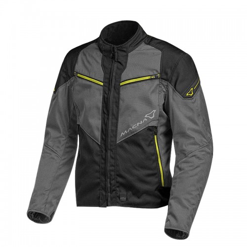 Macna Solute Jacket black/gray/fluo 187