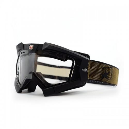 Μάσκα ARIETE RC FLOW 13950-FNGO μαύρο