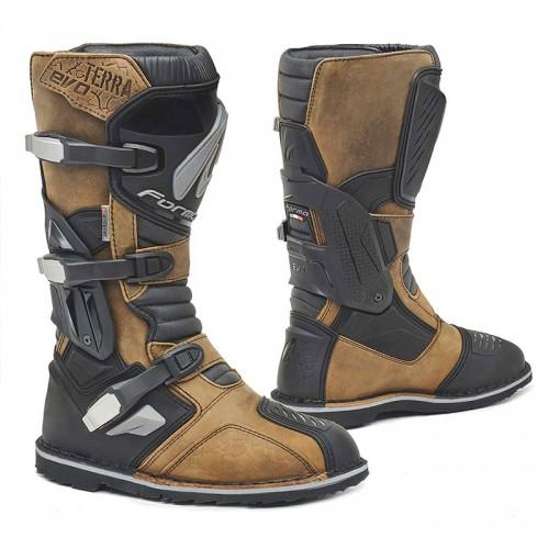 Μπότες Forma Terra Evo δέρμα καφέ