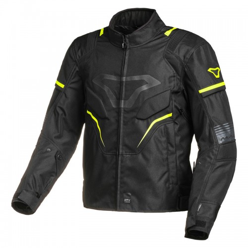 Macna Adept Winter Waterproof Jacket black/fluo 187