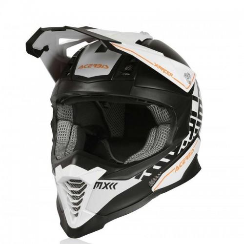 Κράνος Acerbis X-Racer VTR 23444.237 άσπρο/μαύρο