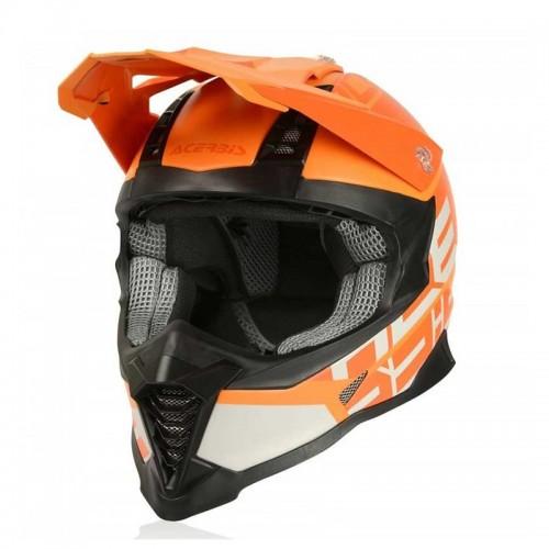 Κράνος Acerbis X-Racer VTR 23444.201 πορτοκαλί/πορτοκαλί